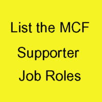 Manly Community Forum - List the MCF Supporter Job Roles